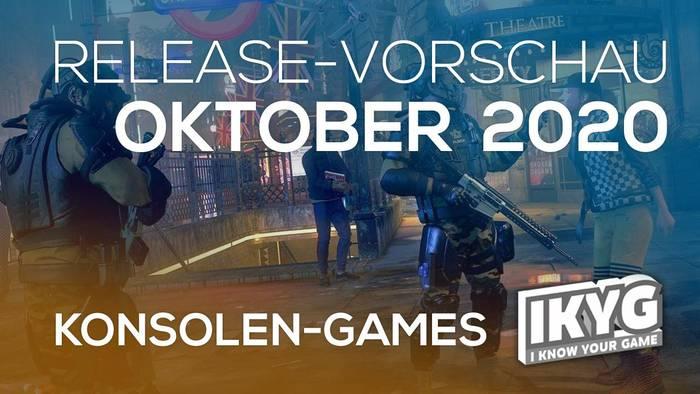 Video: Games-Release-Vorschau - Oktober 2020 - Konsole