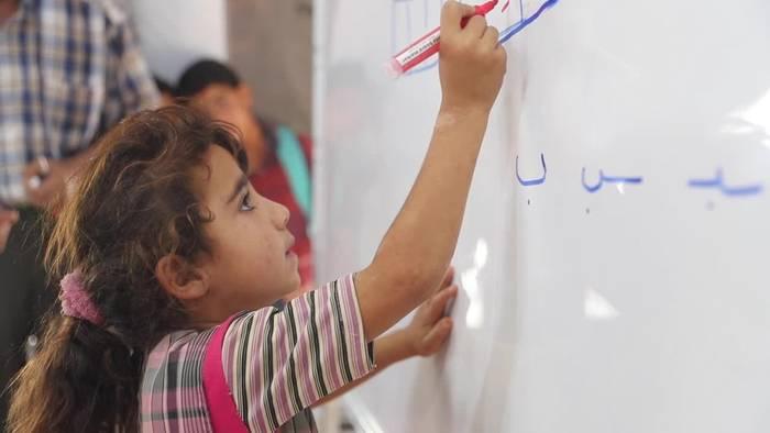 Video: Trotz Corona: Schulstart in Syriens Rebellengebieten