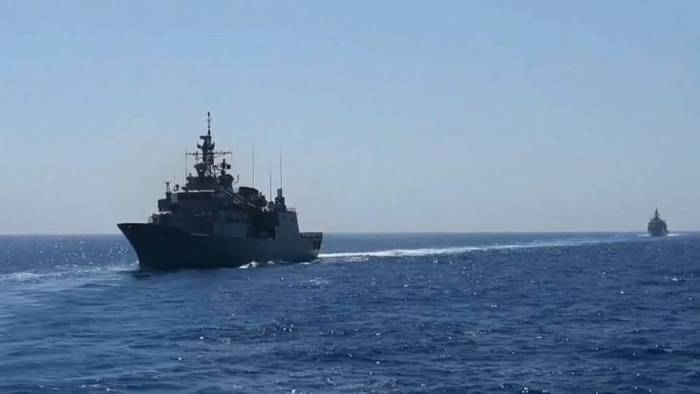 News video: Hotline im Mittelmeer: Nato vermittelt zwischen Türkei und Griechenland