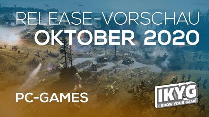 News video: Games-Release-Vorschau - Oktober 2020 - PC