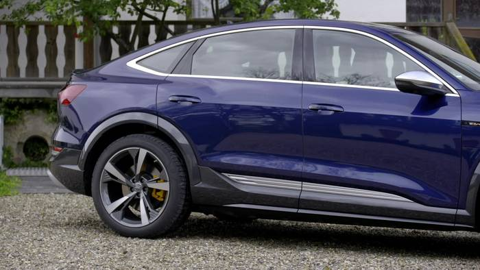 News video: Der Audi e-tron S Sportback - das Exterieurdesign
