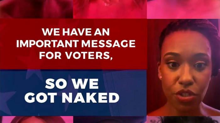 Video: Chris Rock, Amy Schumer & Co: Amy Schumer: Für Wählerkampagne fallen die Hüllen