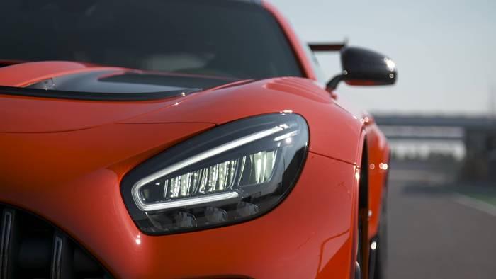 News video: Der neue Mercedes-AMG GT Black Series - Orange als exklusiver Kontrastfarbton
