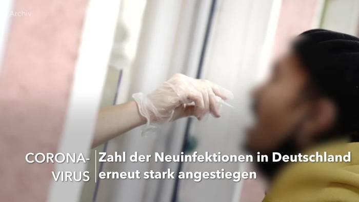 News video: Mehr als 4500 Corona-Neuinfektionen in Deutschland