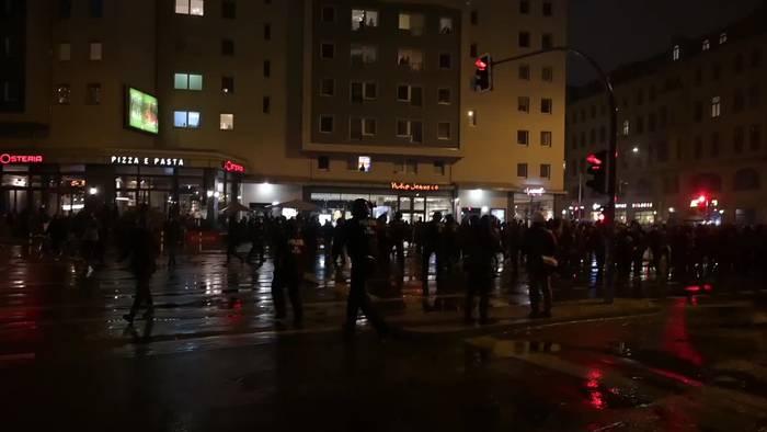 News video: Gewalt bei Protesten gegen Räumung von «Liebig 34»