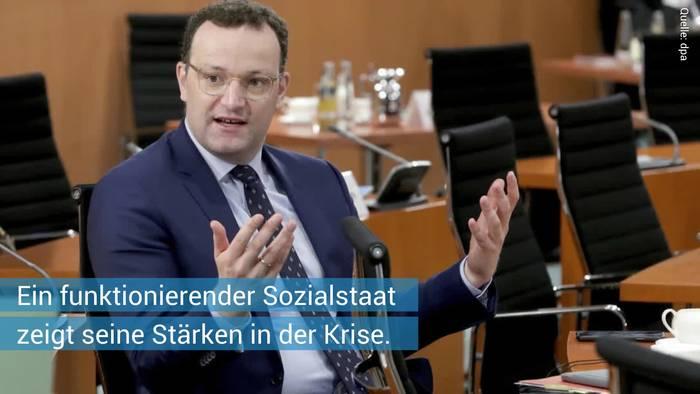 News video: Corona in Deutschland: Zahlen steigen drastisch - Spahn bezieht Stellung