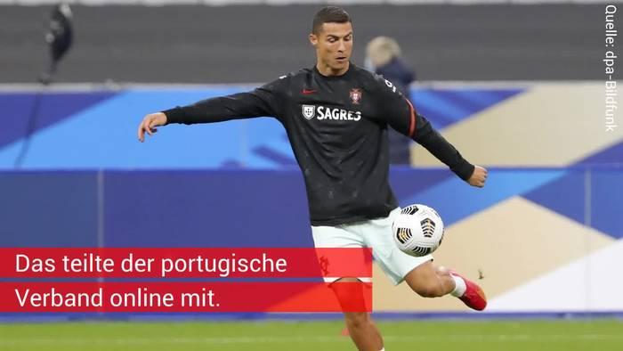 Video: Christiano Ronaldo mit positivem Corona-Test - Am Sonntag spielte er gegen Bayern-Profis