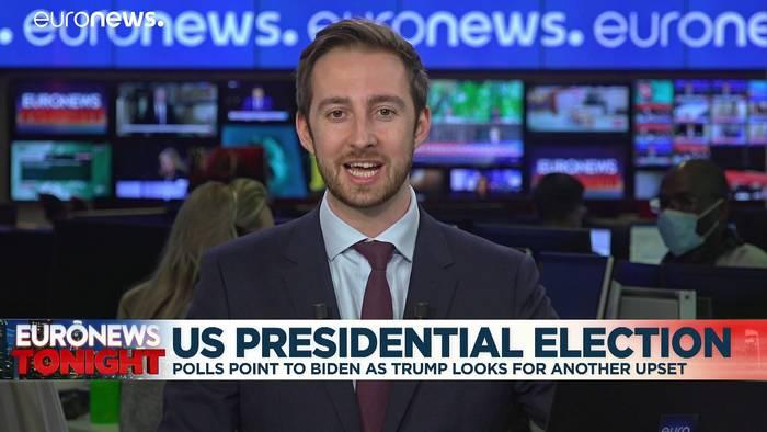 News video: Wer gewinnt die US-Wahl? Experte hat seit 1984 immer richtig getippt