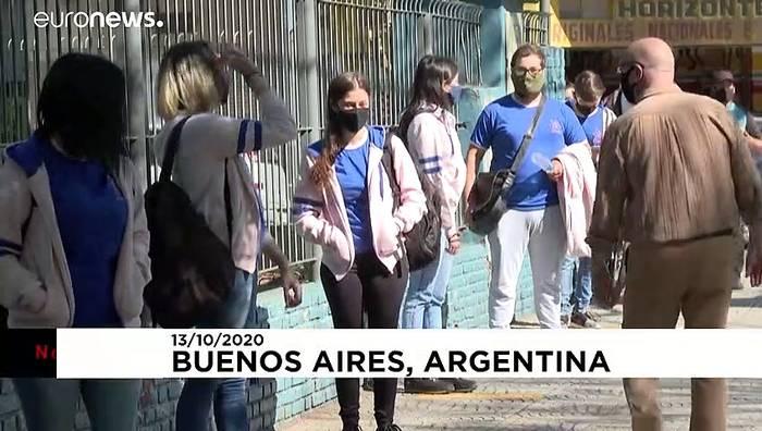 Video: No Comment: Corona-Pause an argentinischen Schulen ist zu Ende