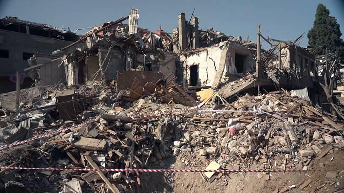 News video: Krieg der Bilder um Berg-Karabach