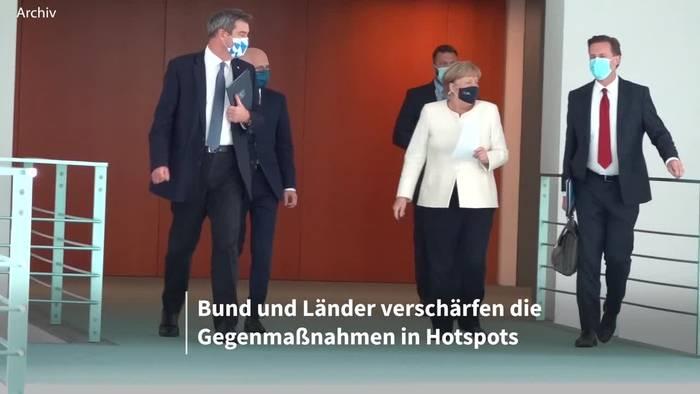 News video: Neuen Corona-Regeln: Für Merkel nicht hart genug
