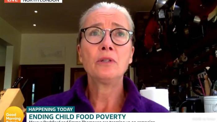 News video: Emma Thompson und Marcus Rashford: Ein ungleiches Paar kämpft für hungrige Kids