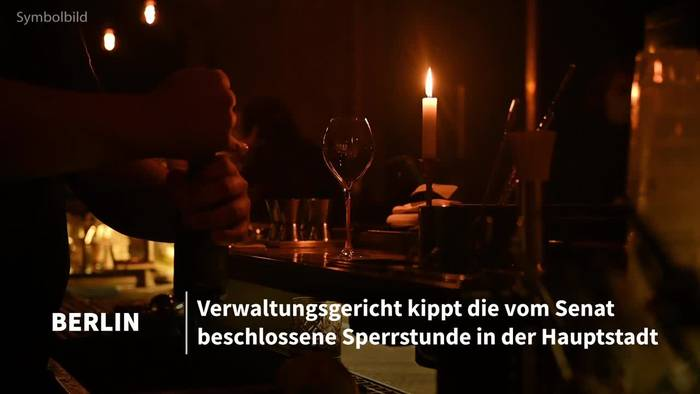 News video: Gericht kippt Berliner Sperrstunde