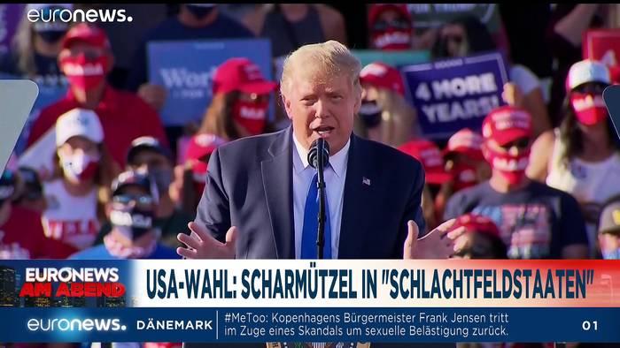 News video: Lokaler Lockdown in Bayern und GREEN WEEK - Euronews am Abend 19.10.