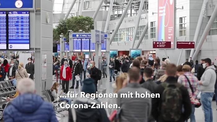 News video: Söder: Bundesweit Maskenpflicht bei hohen Corona-Zahlen