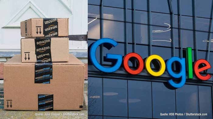 Video: Konkurrenz für Amazon: Google plant Online-Shop