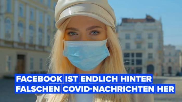 News video: Social Media geht endlich gegen COVID Fehlinformation vor