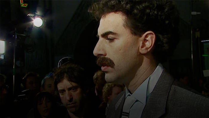 News video: Sacha Baron Cohen: Fünf Tage nichts als Borat