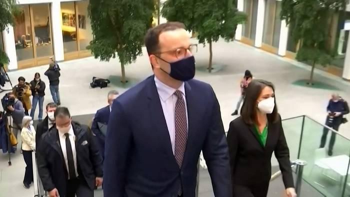 News video: Deutscher Gesundheitsminister Jens Spahn positiv auf Corona getestet