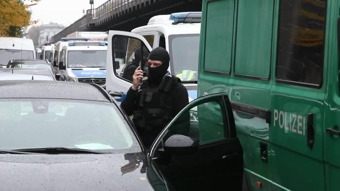 News video: Verdacht auf Subventionsbetrug: Polizei durchsucht Moschee