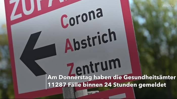 News video: Coronavirus: Mehr als 11.000 Neuinfektionen in Deutschland