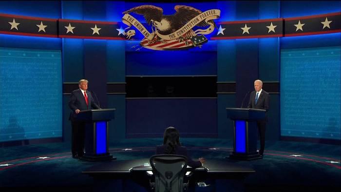 News video: USA: Schlagabtausch bei 2. TV-Debatte - diesmal sachlicher