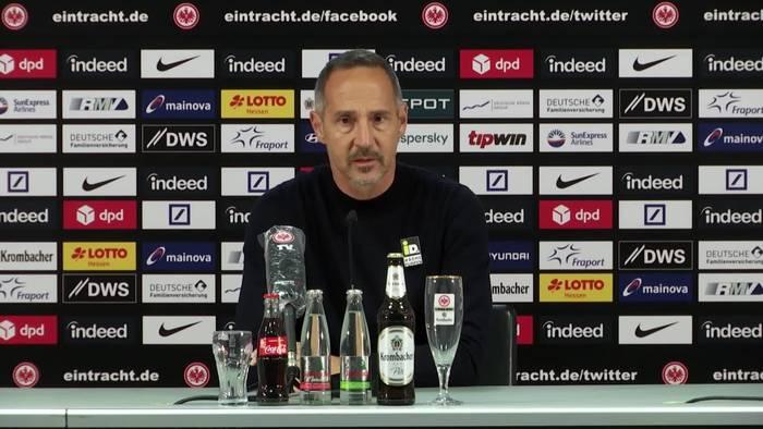 News video: Eintracht-Cheftrainer Adi Hütter vor Bayern: