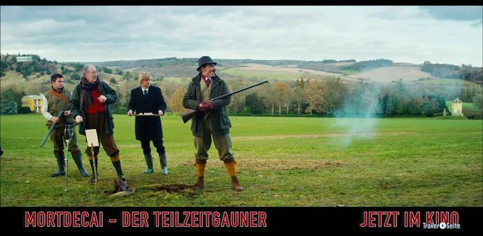 Video: Mortdecai Trailer und Filmkritik - Der Teilzeitgauner Deutsch German (2015) - Trailer