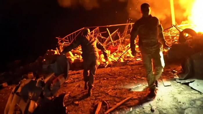 News video: Trotz Friedensbemühungen: Gefechte um Bergkarabach halten an