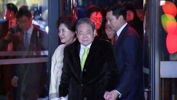 Video: Samsung-Visionär Lee Kun Hee (78) gestorben
