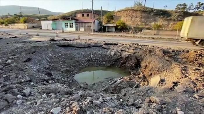 News video: Armenien beschuldigt Aserbaidschan des Bruchs der neuen Waffenruhe