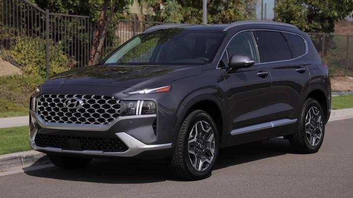 News video: Elegante Erscheinung - Hyundai Santa Fe überzeugt mit stilsicherer Linienführung