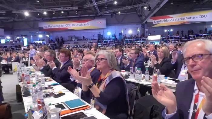 News video: Politiker begrüßen Verschiebung des CDU-Wahlparteitags