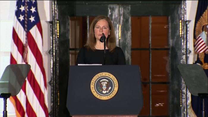 News video: Erfolg für Trump: US-Senat bestätigt Wunschkandidatin Barrett