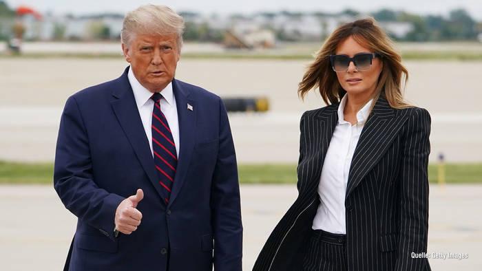 News video: Double von Ehefrau Melania: Hat Donald Trump sie ersetzt?