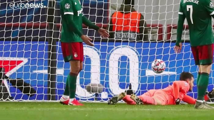 News video: Champions League: Bayern gewinnt 2:1 in Moskau - Gladbach verspielt 2:0-Führung