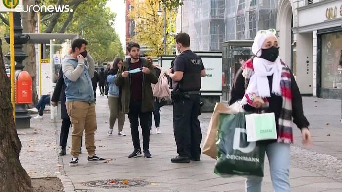 News video: Lockdown in Deutschland: Gaststätten ab dem 2.11. dicht