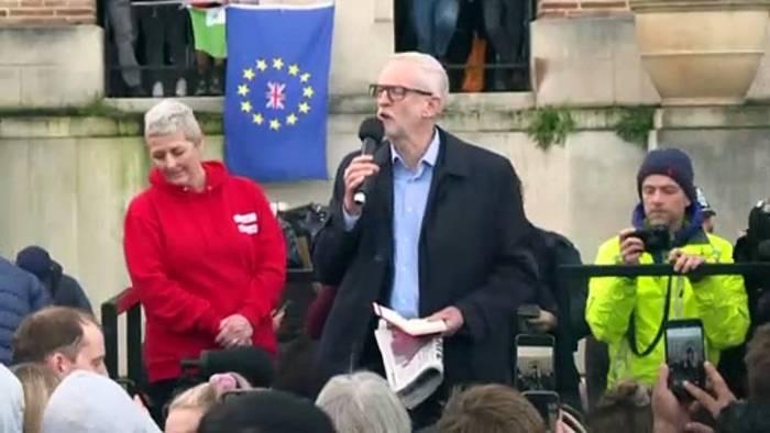 News video: Antisemitismus-Report: Labour wirft Jeremy Corbyn (71) aus der Partei