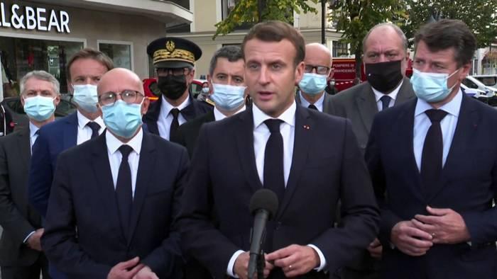 News video: Höchste Terrorwarnstufe nach Messerangriff in Nizza