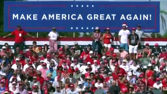 News video: Ringen um das Rentnerparadies: Trump und Biden in Florida