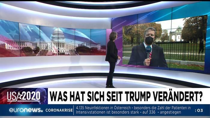 News video: Vor der US-Wahl und Covid-19-Notlage: Euronews am Abend am 02.11.