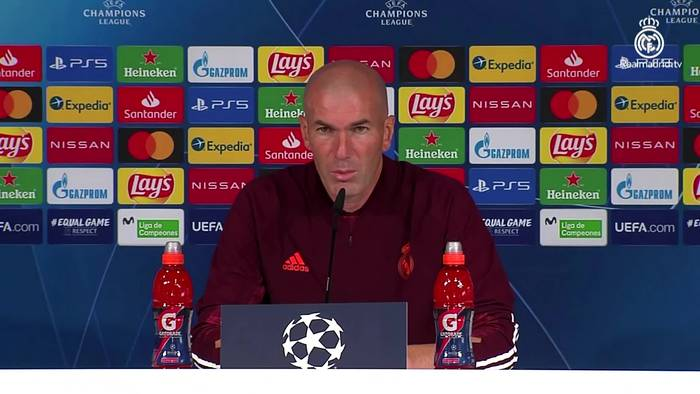 News video: Zidane compares Real's Champions League clash with Inter to 'a final'