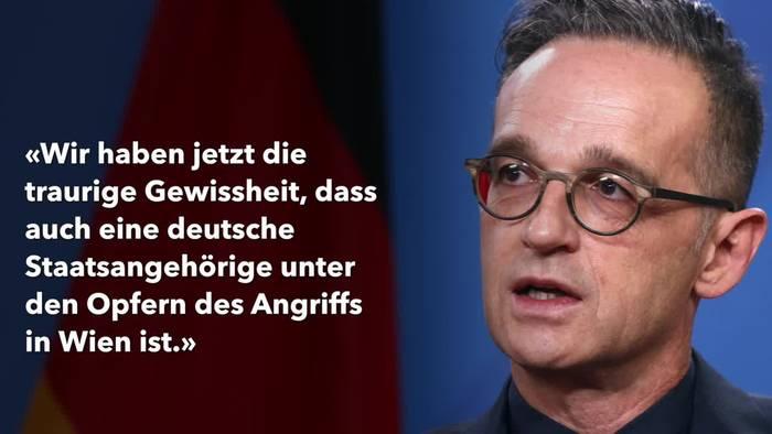 Video: Deutsche bei Terroranschlag in Wien getötet