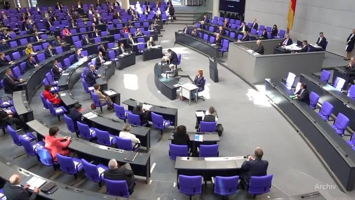 News video: Bundestag berät über islamistischen Terror und Windenergie