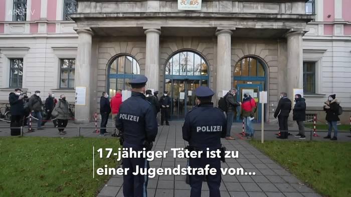 News video: 17-Jähriger erhält nach tödlichem Schlag in Augsburg