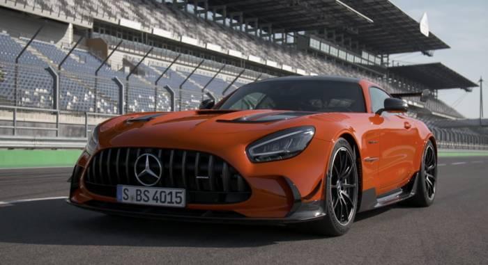 Video: Der neue Mercedes-AMG GT Black Series - Orange als exklusiver Kontrastfarbton