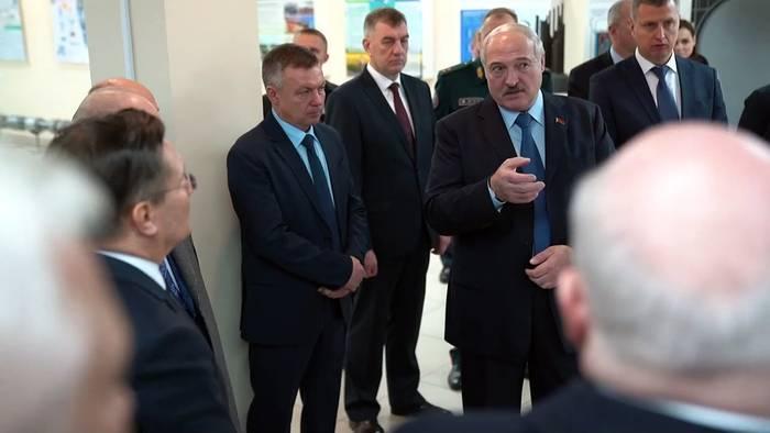 News video: Lukaschenko eröffnet 1. AKW in Belarus