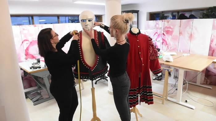 News video: Schöpferinnen der «Masked Singer»-Kostüme: «Setzen alles um»