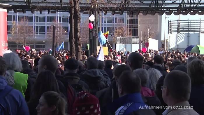News video: Aufarbeitung nach «Querdenken»-Demo in Leipzig gefordert