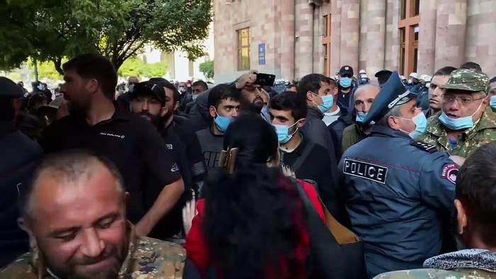 News video: Waffenruhe in Bergkarabach: Moskau entsendet 1960 Friedenssoldaten